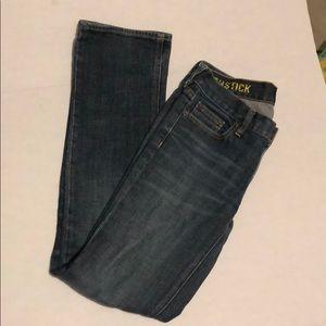 J crew matchstick denim jeans size 27s